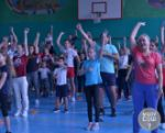 Семейный биатлон в 7 школе!