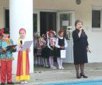 Торжественная линейка, посвященная Дню Славянской культуры и письменности