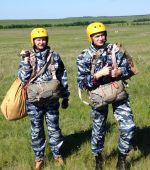 Прыжки с парашютом наших выпускников