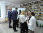 Торжественный прием активистов Совета УСУ школы в члены РСМ