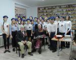 Встреча ЮНАРМЕЙЦЕВ с ветеранами